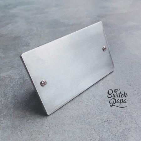 鋁合金手工研磨一聯盲蓋