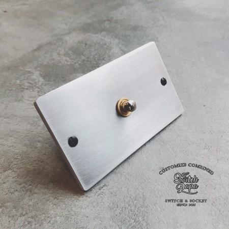 鋁合金單電鈴開關