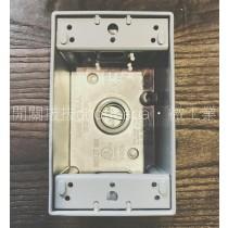一聯鋁製加厚配線盒