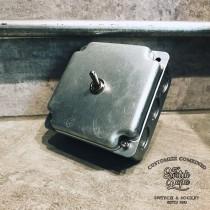 鍍鋅美規盒裝復古開關1開(含盒)