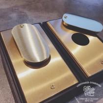 黃銅鐘擺式冷氣排水修飾蓋(圓孔30mm)