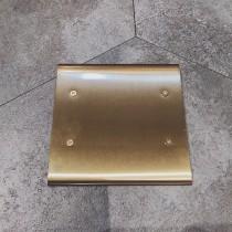 黃銅二聯無孔盲蓋