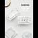 大理石紋框架,集聚優雅、圓滑、薄型三大特色,並與金屬質感框架結合,可搭配Panasonic Risna全系列面板,適用於usb插座、一般插座、開關按鈕,直噴轉印技術,整體奢華又不失優雅。